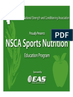 Nutrition for Strength and Power Athletes