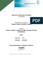 Disen Orientado a Objetos Con UML