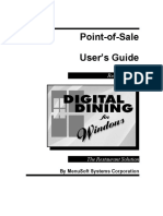 Digital Dining Manual