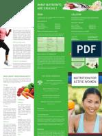 SMA AWiS Nutrition for Active Women
