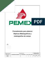 Procedimiento Para Elaborar Replicas Metalográficas Rev. 0