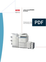 Canon ImageRunner j1655 IRC5185 Specifications Brochure