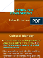 Education for Development