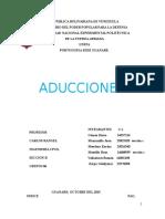Unidad 8 Aducciones