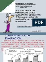 Tendencias de La Evaluacion. Enfoques Actuales(1)