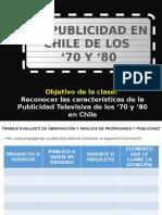 Publicidad 70 y 80 Chile