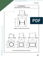 Columns Bases_Standard Details