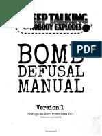 Bomb Defusal Manual Español Lalexvk