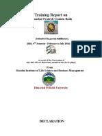 Internship report on Himachal gramin bank