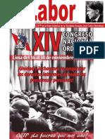 LABOR N° 5 Setiembre 2016, edición digital del vocero oficial de la CGTP