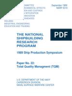 Total Quality Managment (TQM)