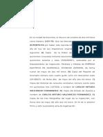1. Acta Legalizacion de Firma Hoja Independiente