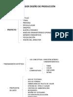 Dossier Diseno de Produccion