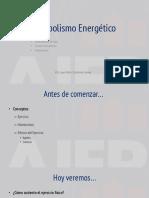 01_Metabolismo Energético I
