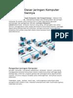 1. Komponen Dasar Jaringan Komputer dan Pengertiannya.docx