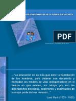 La educacion por competencias en la formacion docente - Presentacion Grisell.pdf
