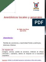 Anestésicos General16