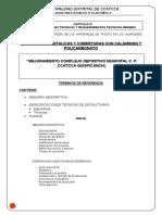 Modelo de Memoria Descriptiva Techo Parabolico Aluzinc y Policarbonato