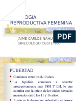 FISIOLOGIA CICLO REPRODUCTIVO