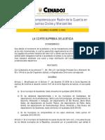 Acuerdo 2-2006 Cuantia de Los Jueces