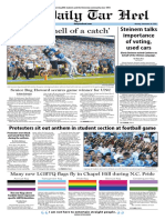 The Daily Tar Heel for Sept. 26, 2016