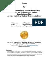 AIIMS Jodhpur Tender v1.2 (1) 06.08.2016