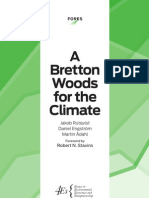 FORES a Bretton Woods for the Climate (2nd edition)