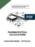 Pharmaceutical Calc