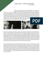 El Soporte Es El Mensaje-Jorge La Ferla-Bill Viola en Buenos Aires-25 an-os de the Passing