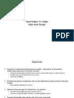 Hyperledger v1 High Level Design