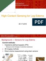 leg edema sensor  1