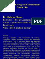 Dr. Shams's Ecology- Part 1