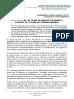 Puebla, el estado con más Averiguaciones Previas por trata