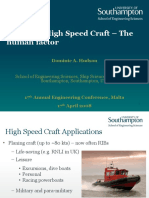Design of High Speed Craft – the Human Factor