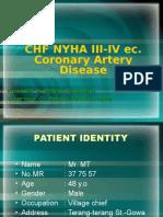 CHF NYHA III-IV ec. CAD