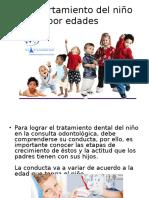 Clasificacion de La Conducta Del Niño