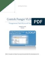 Fungsi VLookup Pada Excel 2007