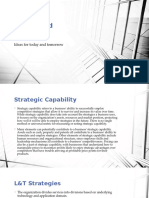 Larsen and Toubro Strategic Capability