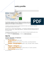 Pakistan Country Profile