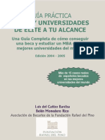 Becas del Pino - MBA