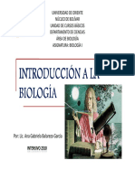 introduccion a la biologia