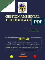 Gestion Ambiental de Hidrocarburos - 1er Parcial