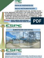T ESPEL ENI 0360 P Integracion 61850