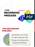 Business Accounting Topic 3 - The Recording Process