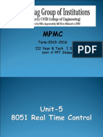 MPMC Unit-5