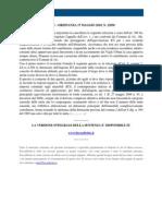 Fisco e Diritto - Corte Di Cassazione Ordinanza n 12050 2010