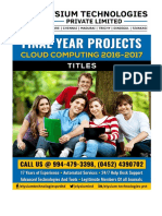 Elysium Technologies Cloud Computing 2016-17 Titles