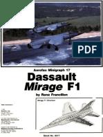 [Aerofax Minigraph] - Mirage F-1