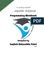 O Level Programming Pre-release Material