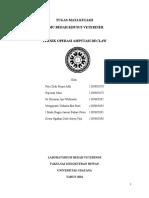 Paper Bedah Teknik Operasi Amputasi Declaw